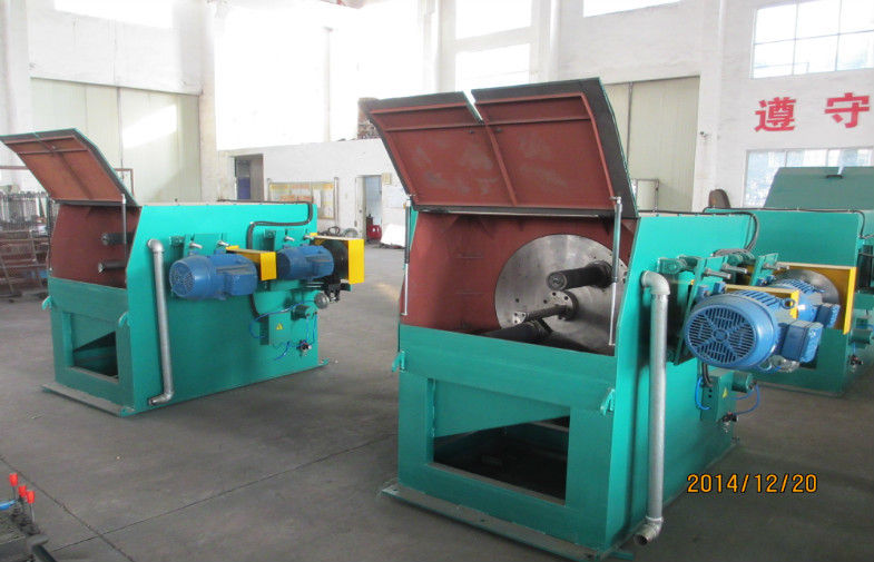 Professional Fully Automatic Abrasive Belt Grinding Machine With 350mm Pole Diameter