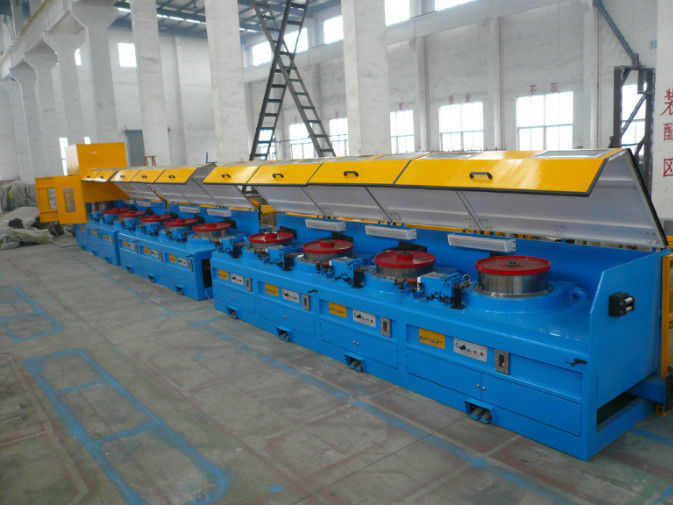 8mm - 16mm Mechanical Wire Descaler Machine , High Speed Wire Processing Machine